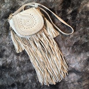 In The Dust Vegan Leather Fringe Purse